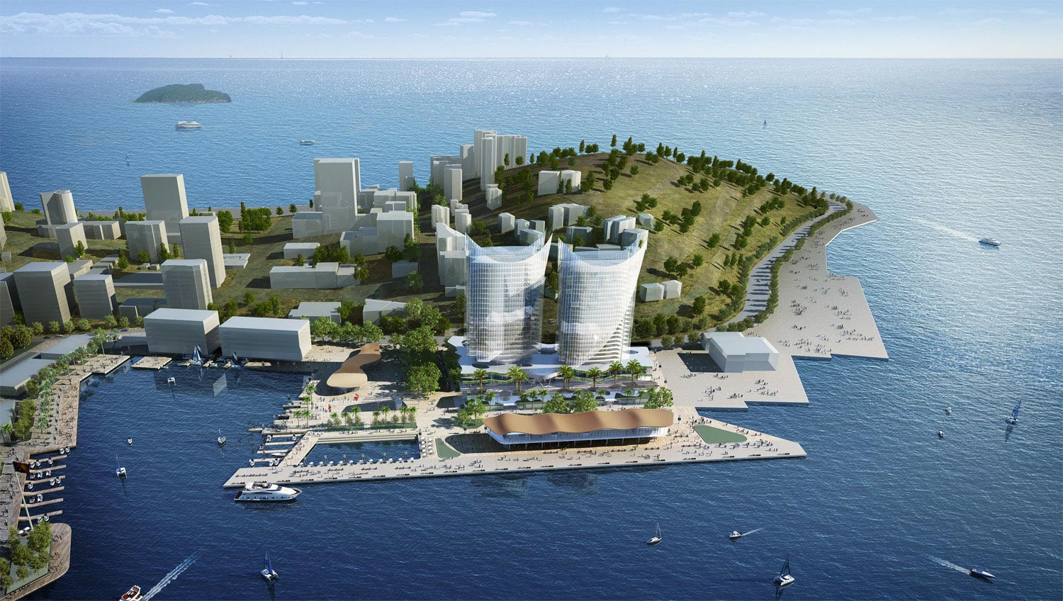 Artist impression, POM Port Precinct
