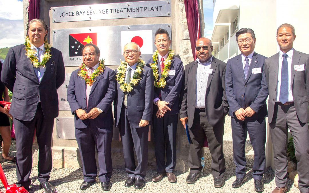 Multimillion kina Joyce Bay Sewage Treatment Facility commissioned
