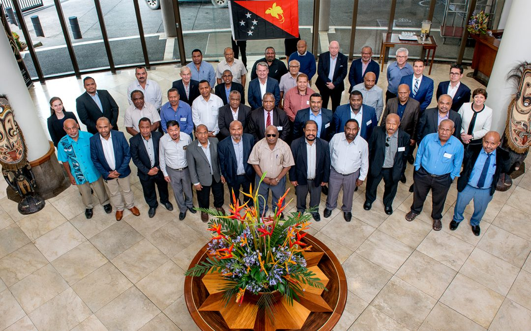 KCH partners with Australia Institute of Company Directors and PNGID to run 5-day course for SOE board members