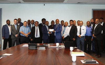 KCH staff raise K500,000 for Australian bushfire relief